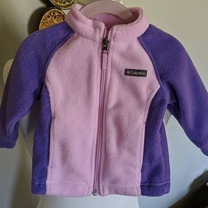 Baby Girl's Columbia Benton Springs Fleece Jacket